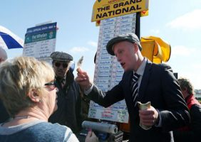 Bookmaker at Aintree